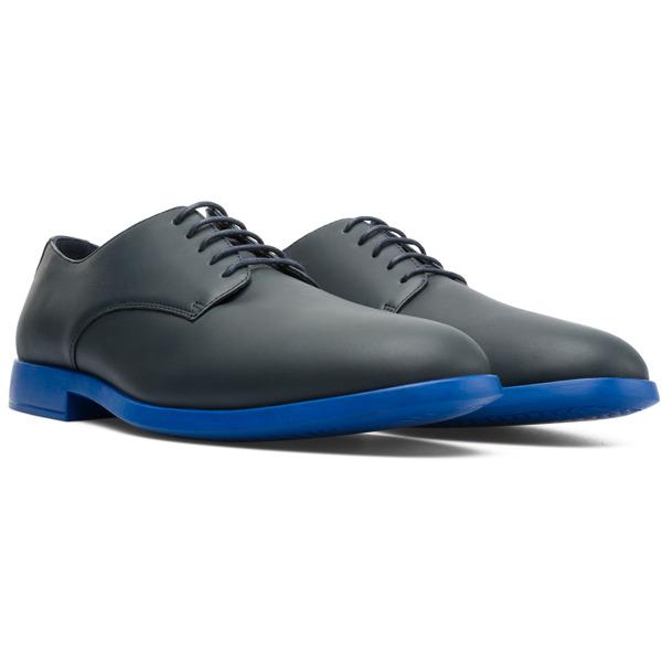 Camper Truman Blue Formal Shoes Men K100243-009