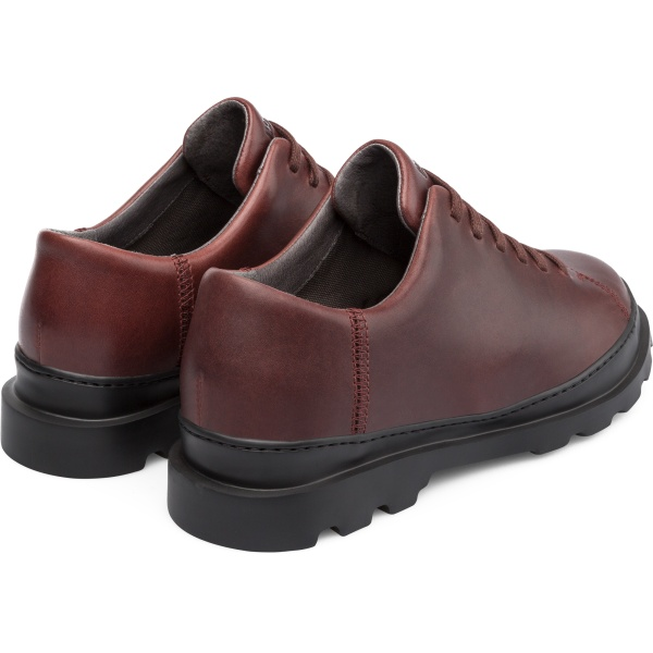 Camper Brutus Burgundy Casual Shoes Men K100245-010