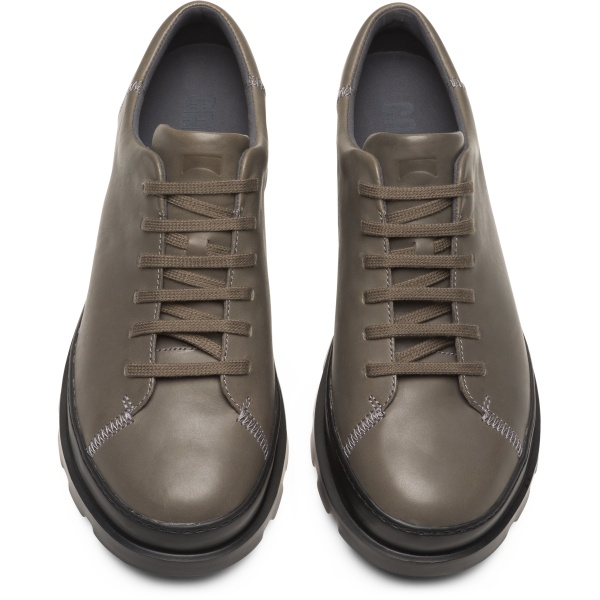 Camper Brutus Grey Formal Shoes Men K100245-019