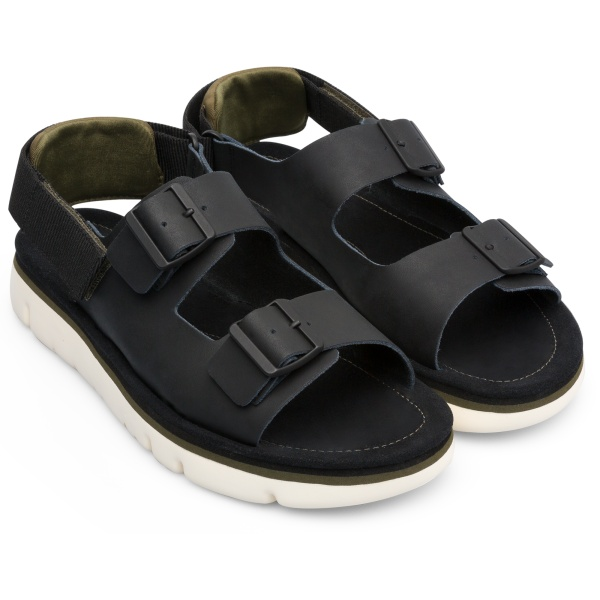 Camper Oruga Black Sandals Men K100287-008