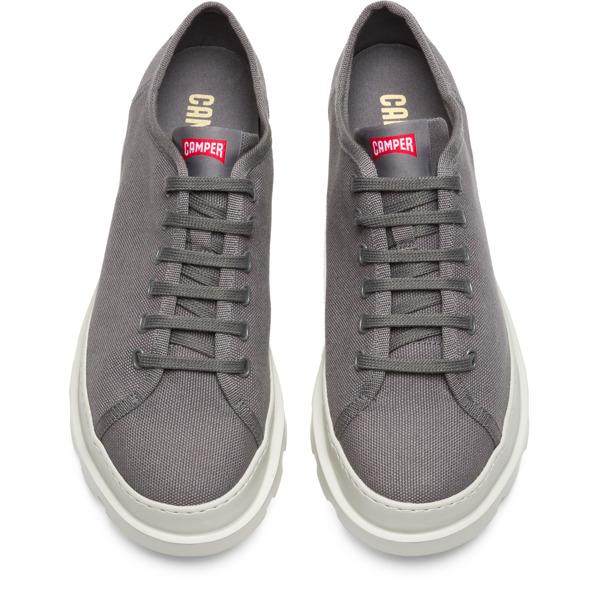 Camper Brutus Grey Casual Shoes Men K100294-005
