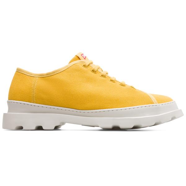 Camper Brutus Yellow Casual Shoes Men K100294-007