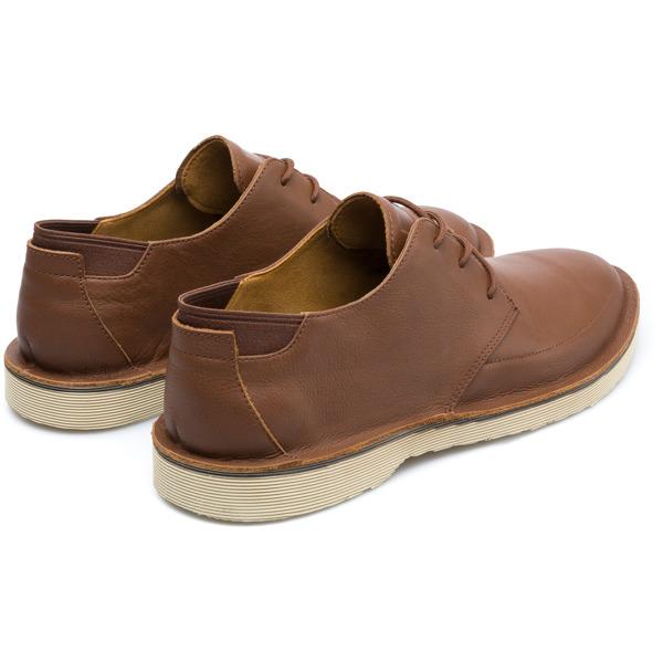 Camper Morrys Brown Formal Shoes Men K100295-006