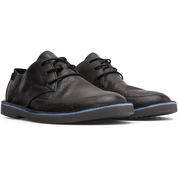 Camper Morrys Black Formal Shoes Men K100295-007