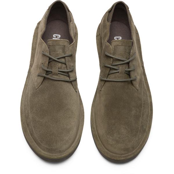 Camper Morrys Green Formal Shoes Men K100295-008