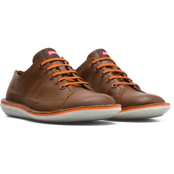 Camper Beetle Brown Casual Shoes Men K100307-004