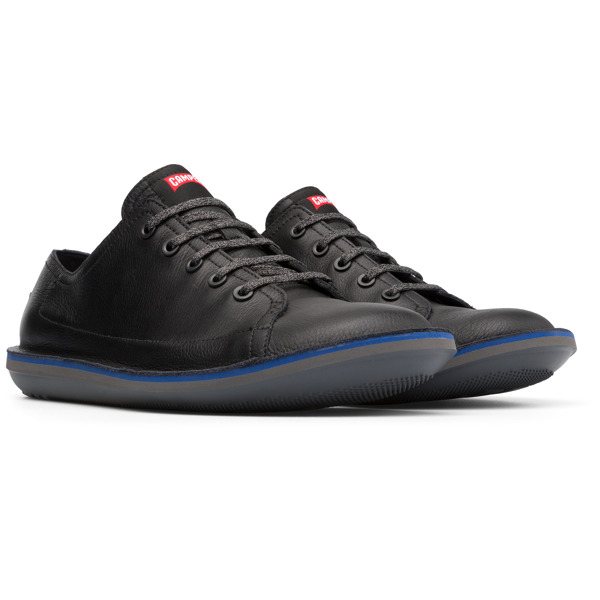 Camper Beetle Black Casual Shoes Men K100307-005