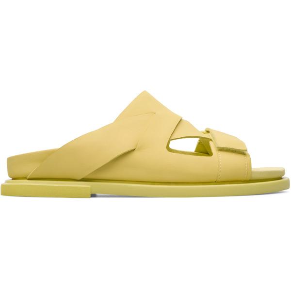 Camper Edo Yellow Formal Shoes Men K100311-004
