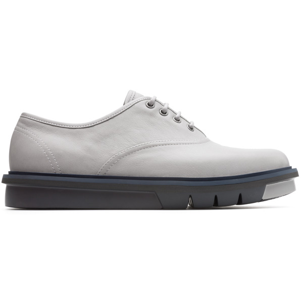 Camper Mateo Grey Formal Shoes Men K100342-001