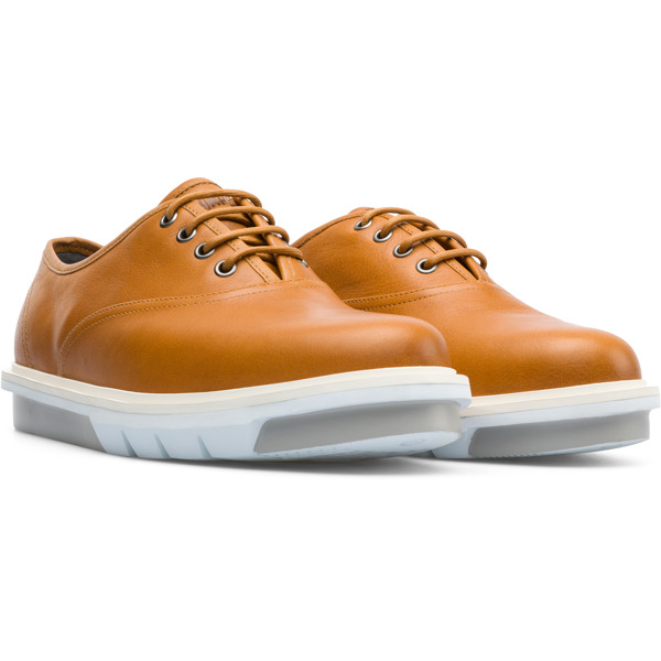 Camper Mateo Brown Formal Shoes Men K100342-003