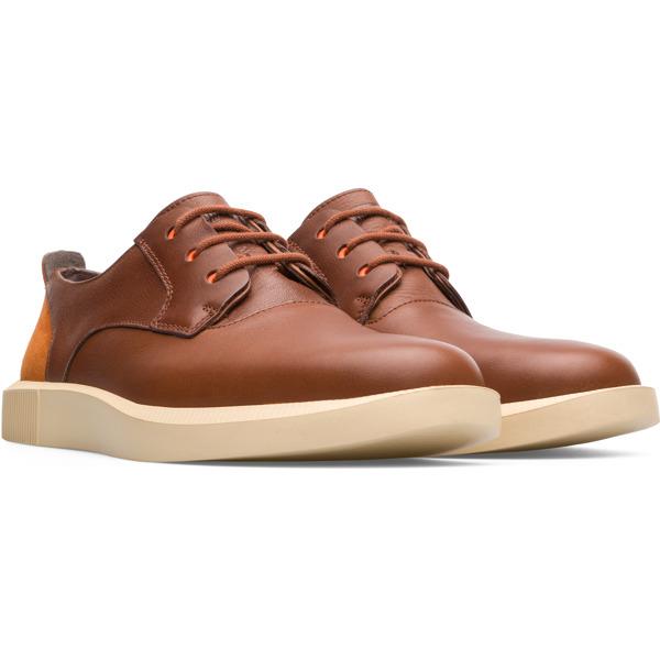 Camper Bill Brown Formal Shoes Men K100356-011