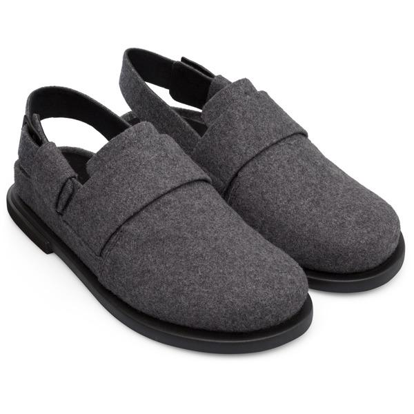 Camper Edo Grey Formal Shoes Men K100376-003