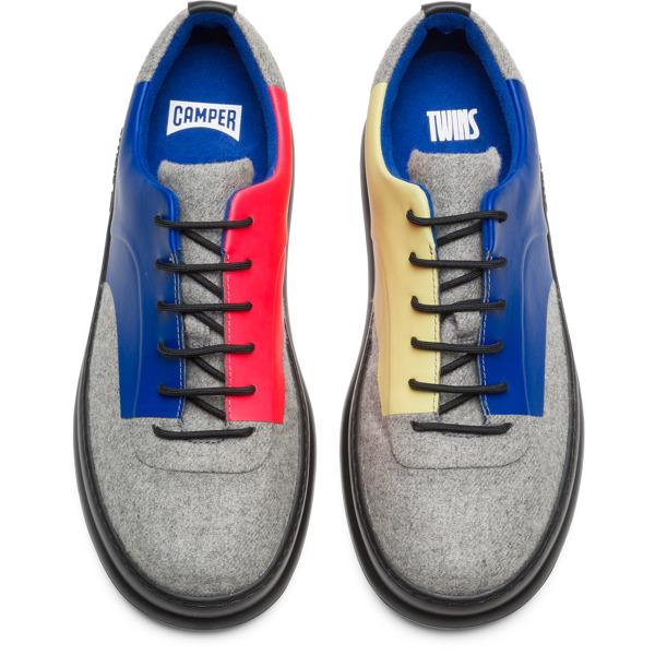 Camper Twins Grey Sneakers Men K100386-001