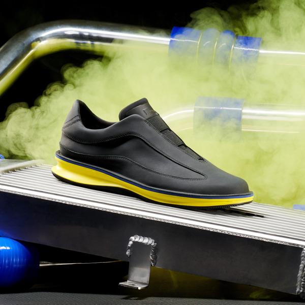 Camper Rolling Black Sneakers Men K100389-008