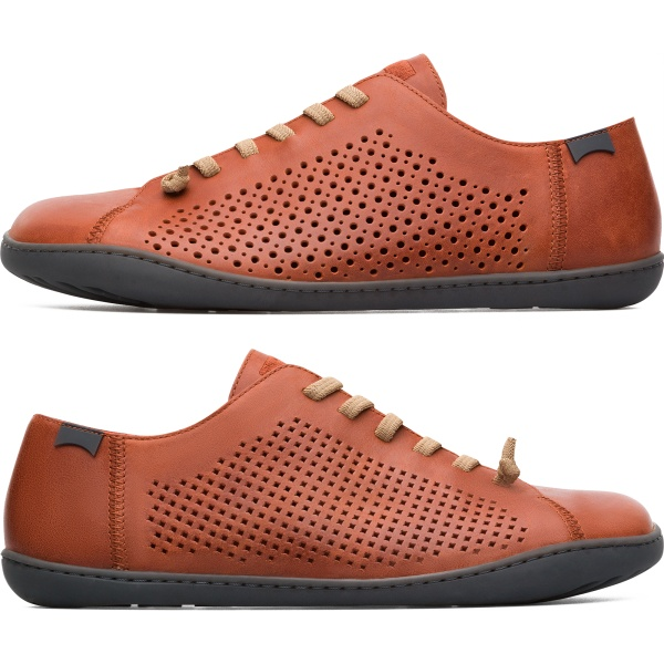Camper Twins Brown Casual Shoes Men K100439-002
