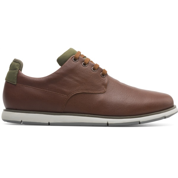Camper Smith Brown Formal Shoes Men K100478-003
