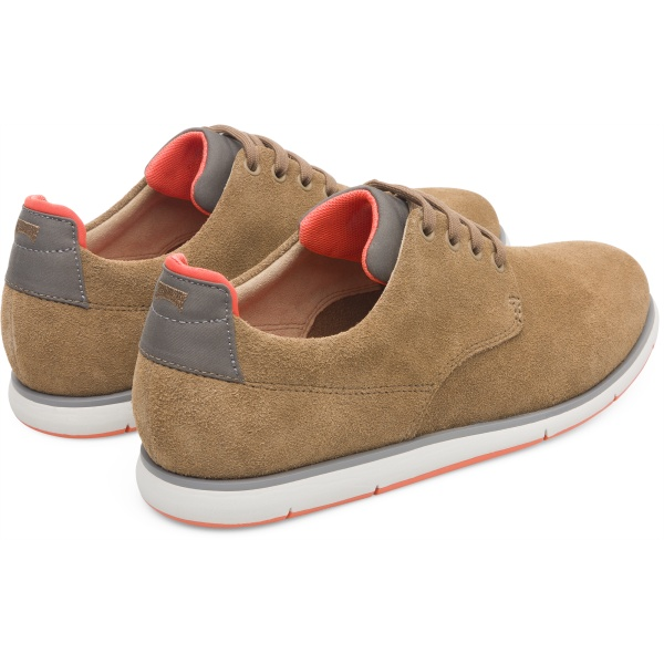 Camper Smith Brown Formal Shoes Men K100478-004