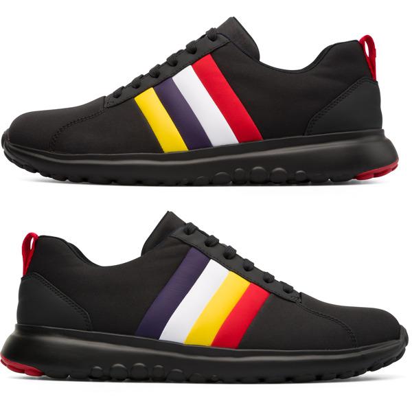 Camper Twins Black Sneakers Men K100500-001