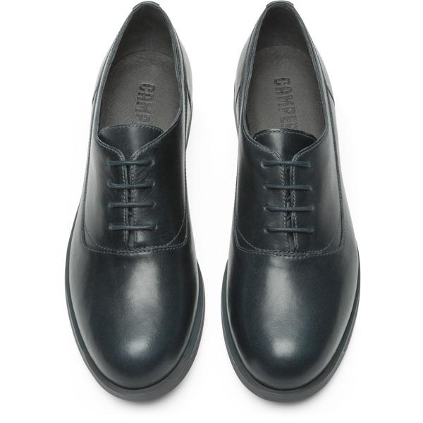 Camper Bowie Blue Flat Shoes Women K200016-013