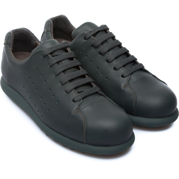 Camper Pelotas Green Flat Shoes Women K200038-009