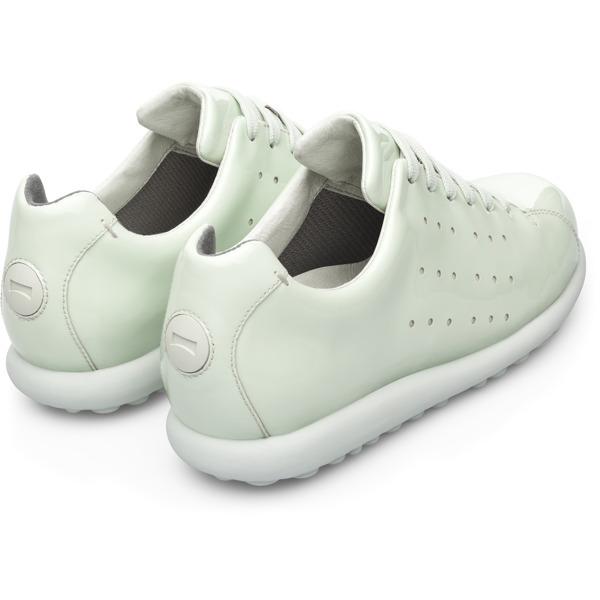 Camper Pelotas Green Flat Shoes Women K200038-019