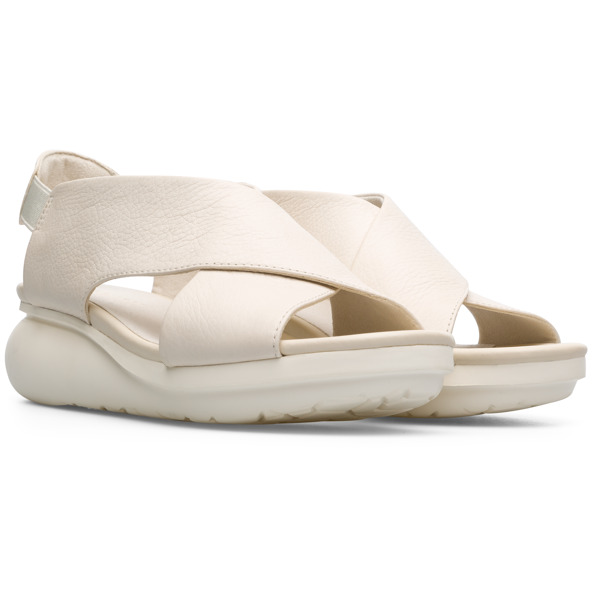 Camper Balloon Beige Sandals Women K200066-019