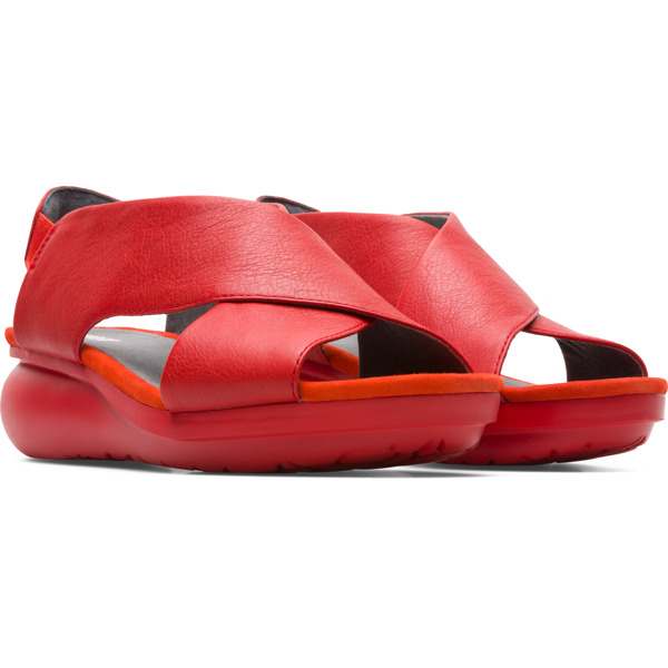 Camper Balloon Red Casual Shoes Women K200066-024