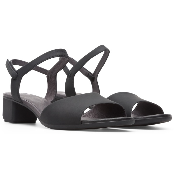 Camper Beth Black Sandals Women K200070-011