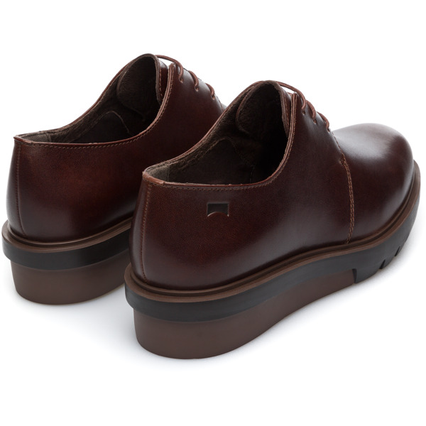 Camper Marta Brown Flat Shoes Women K200114-015