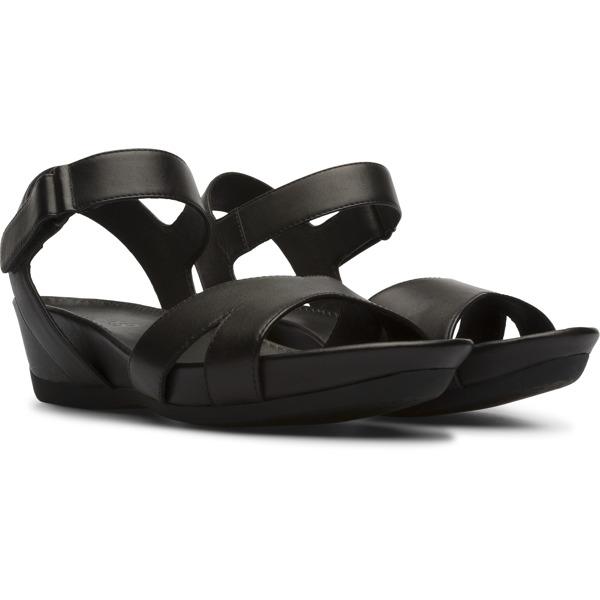 Camper Micro Black Sandals Women K200116-005