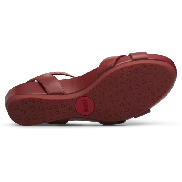 Camper Micro Red Sandals Women K200116-019