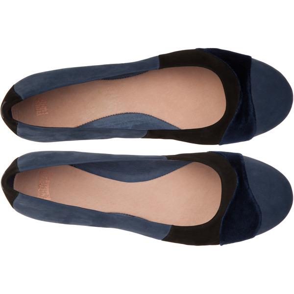 Camper Twins Blue Flat Shoes Women K200153-002