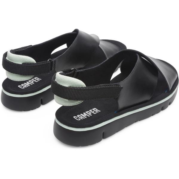 Camper Oruga Black Sandals Women K200157-014