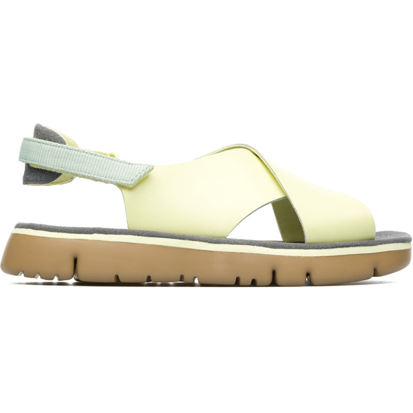 Camper Oruga Yellow Sandals Women K200157-015