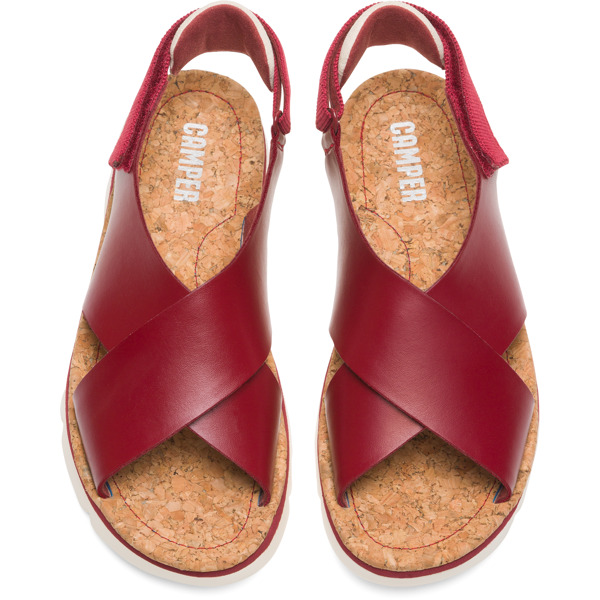 Camper Oruga Red Sandals Women K200157-017