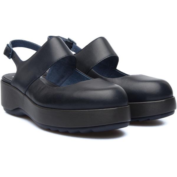 Camper Dessa Blue Formal Shoes Women K200198-002