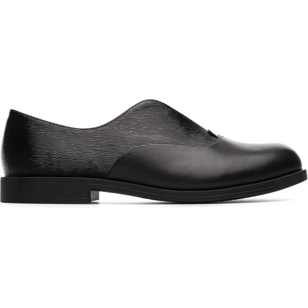 Camper Bowie Black Formal Shoes Women K200204-005