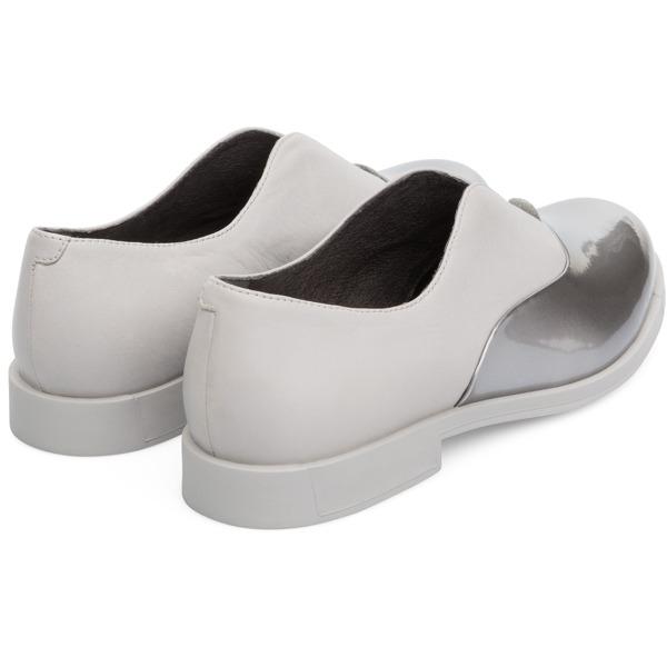 Camper Bowie Grey Flat Shoes Women K200204-006