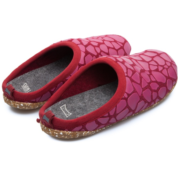 Camper Twins Red Slippers Women K200242-002