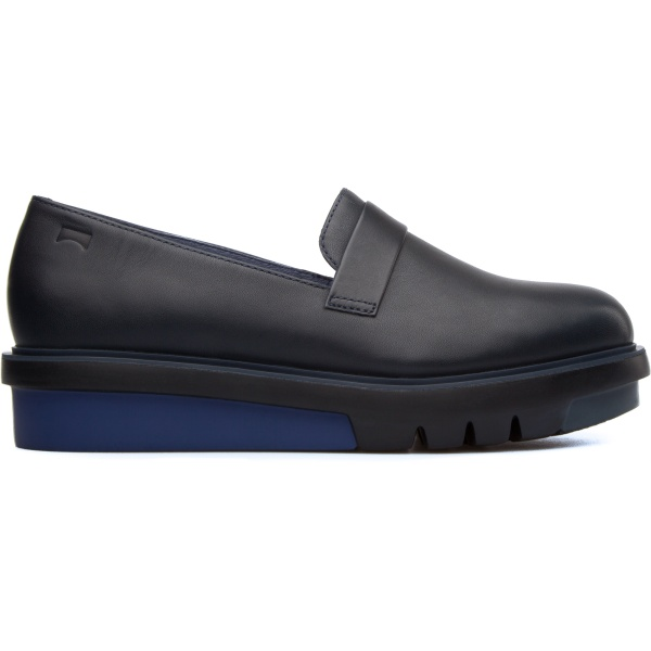 Camper Marta Blue Flat Shoes Women K200293-002