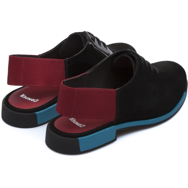 Camper Bowie Black Flat Shoes Women K200305-001