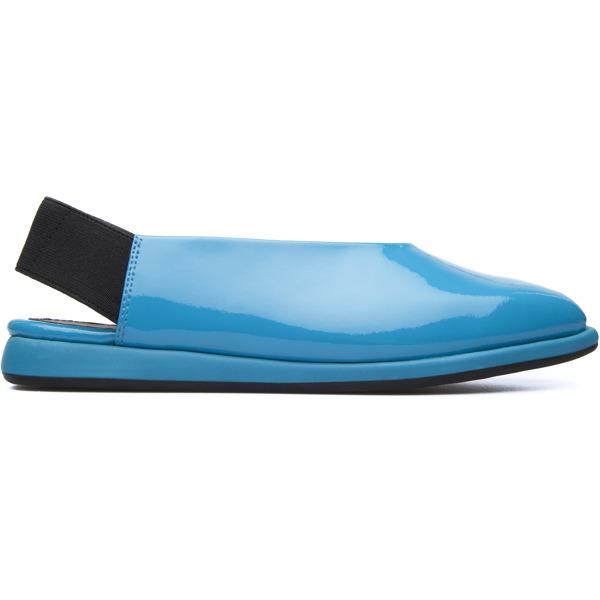 Camper Fidelia Blue Flat Shoes Women K200316-001