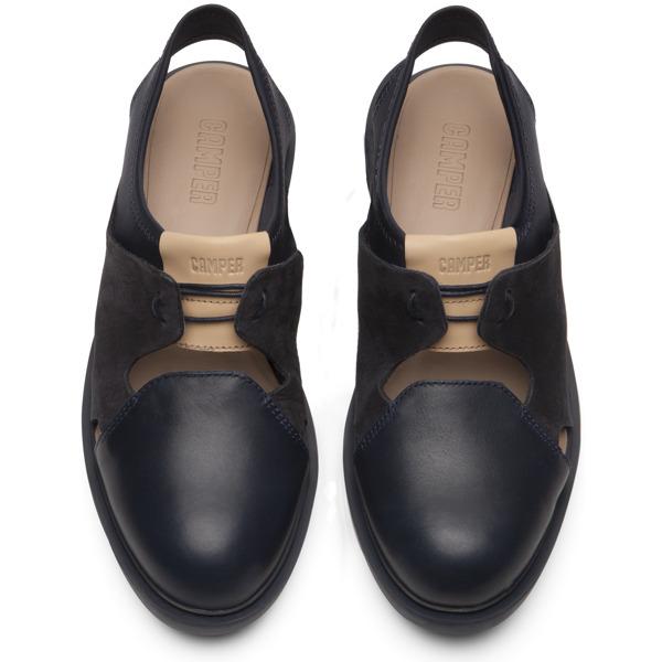 Camper Marta Blue Flat Shoes Women K200333-001