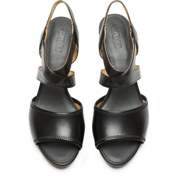Camper Myriam Black Sandals Women K200340-001
