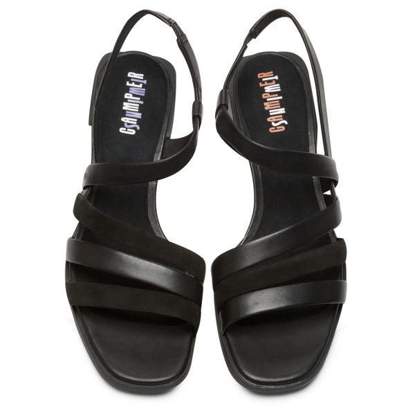 Camper Twins Black Sandals Women K200343-007