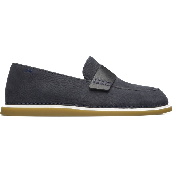 Camper Nixie Blue Flat Shoes Women K200346-005