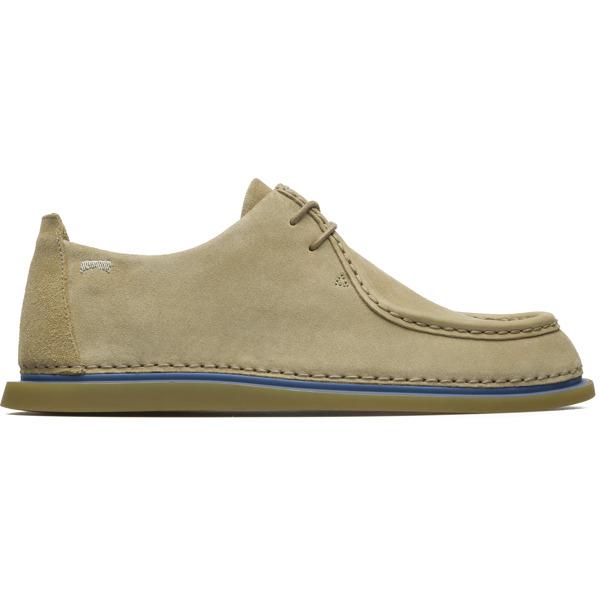 Camper Nixie Beige Flat Shoes Women K200347-001