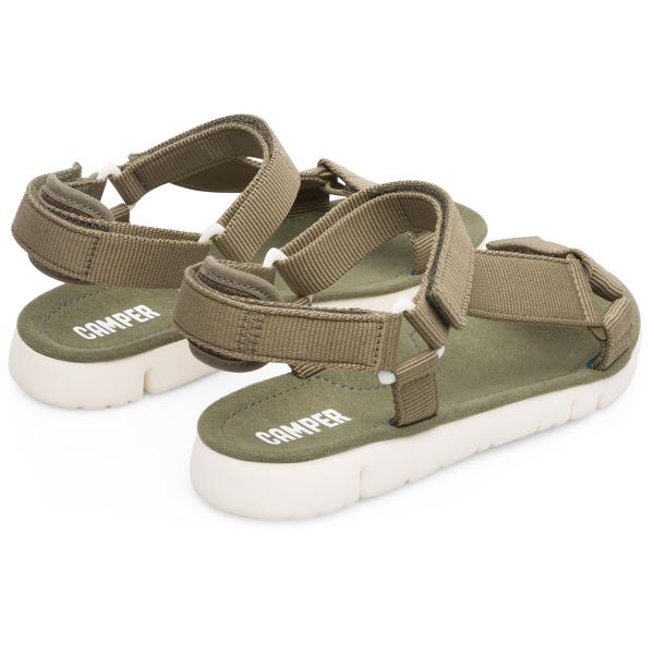 Camper Oruga Green Sandals Women K200356-008