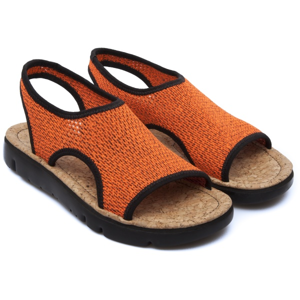 Camper Oruga Orange Sandals Women K200360-002