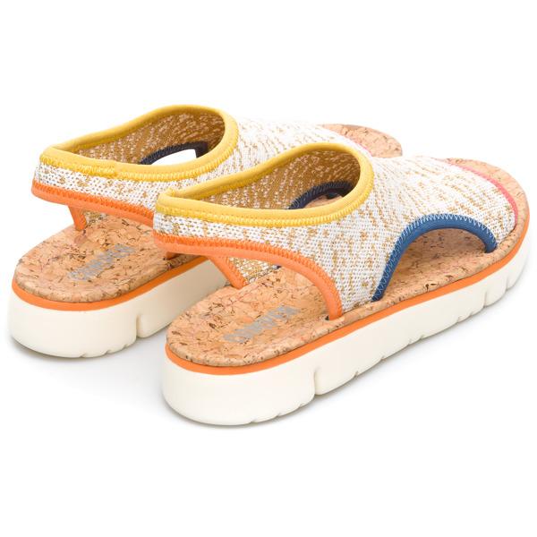 Camper Oruga Multicolor Flat Shoes Women K200360-004